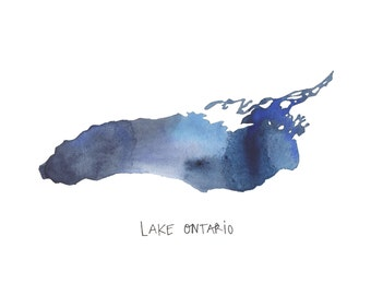 Lake Ontario Print