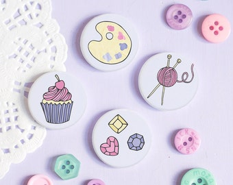 Craft Badges - Those Who Make Collection - Gift for Crafters