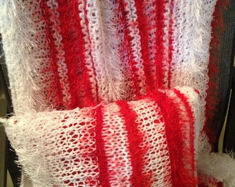 Peppermint Blanket and Matching Pillow