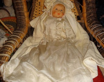 "Kathe Kruse German Du Mein Baby 20"" Layers of Clothing"