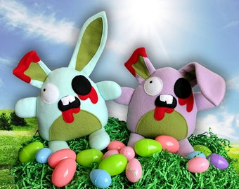 Zombie Easter Bunny Plush Toy