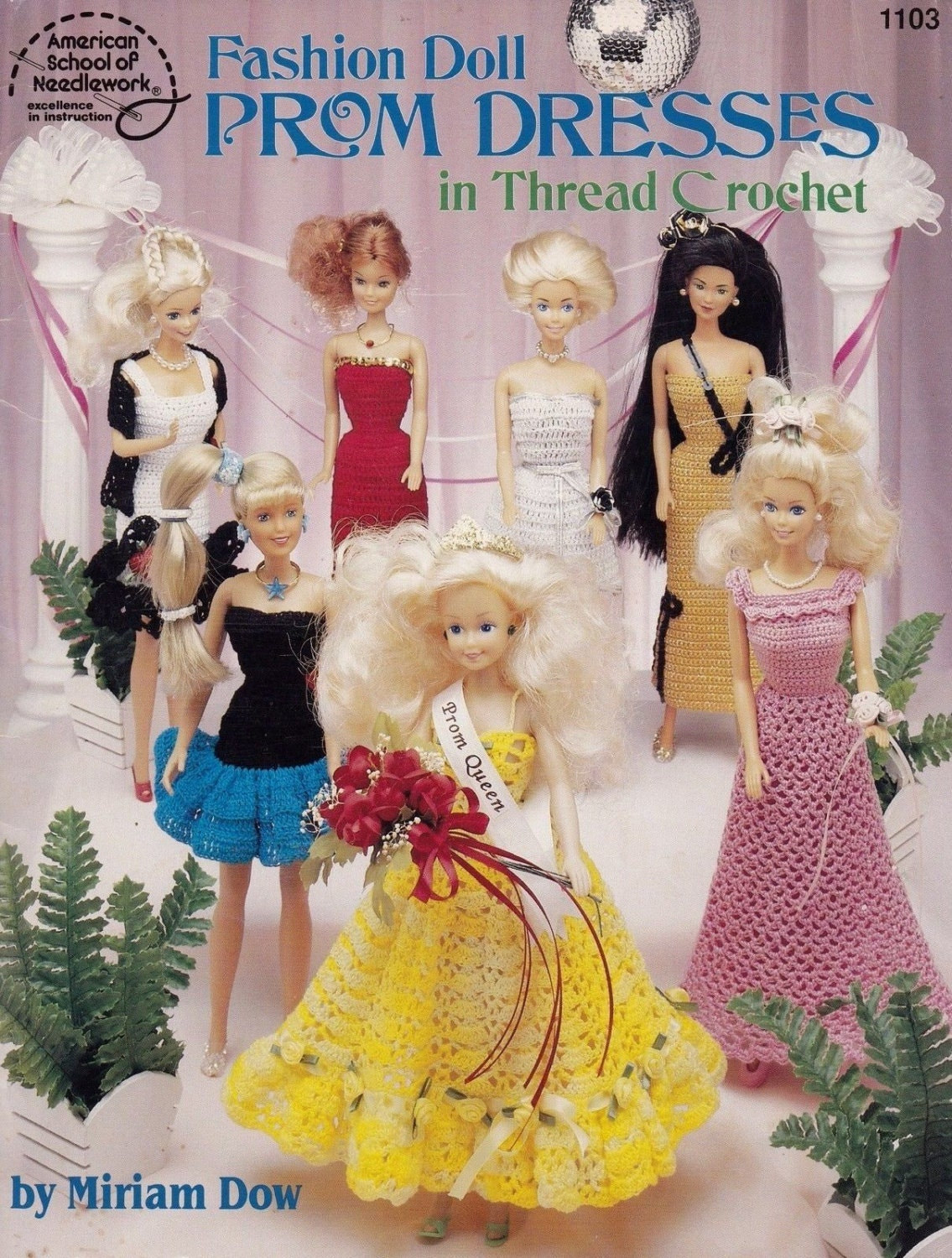 Prom Dresses, American School of Needlework Crochet Fashion Doll ...