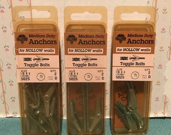 Vintage Toggle Bolts