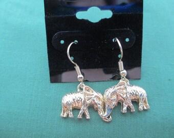 Elephant Earrings,Charms Earrings