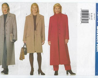 Butterick 5274 - MISSES Coat, Skirt & Pants / Sizes 8, 10, 12