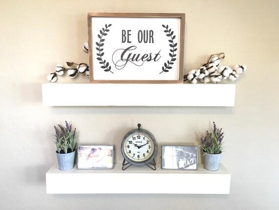 Floating Shelves, Wall Shelves, Farmhouse Decor, Rustic Shelves, Floating Shelf, White Floating Shelves, Chunky Shelves, Rustic Wood Shelf