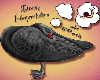 Dream interpretation under 600 words