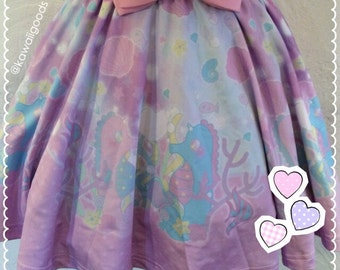 Starty Marrine Skirt, Fairy Kei Skirt, Kawaii Skirt