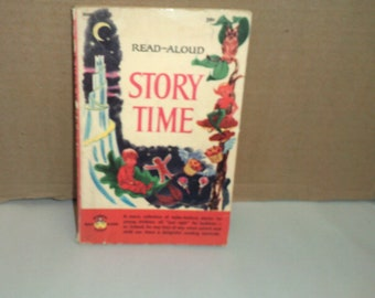 Read-Aloud Story Time Rare 1965 paperback edition