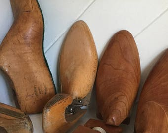 Displays,Wooden Foot Forms,Shoe Stretcher (whole group)