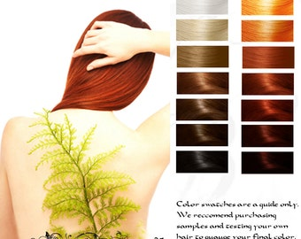 Kitsune: Fox Fire Red Herbal Hair Color 100g