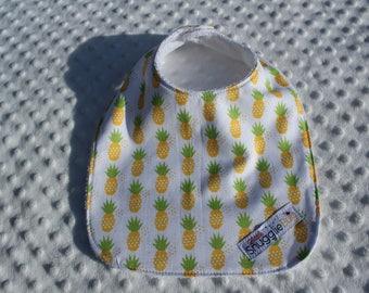 Pineapples Bib