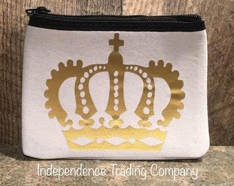 Custom Crown Coin purse