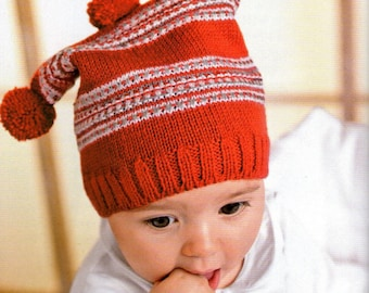 Little Funny Jester Baby Beanie