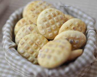 Bread-Bakery-Miniature Dolls House Scale-twelfth-Pane Rustico Turtle-Dollhouse-Store Bakery