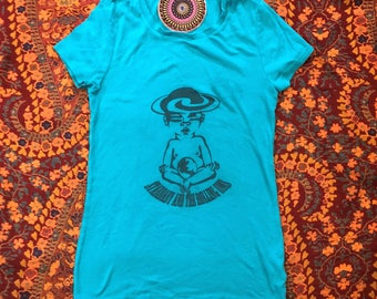 Women's Small (4-6) Up-Cycled T-Shirt