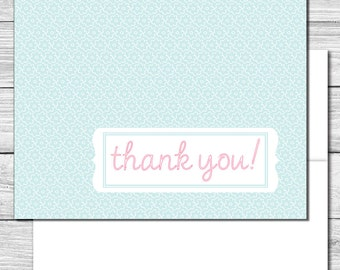 Thank you Notes--Blue Daisies--513S