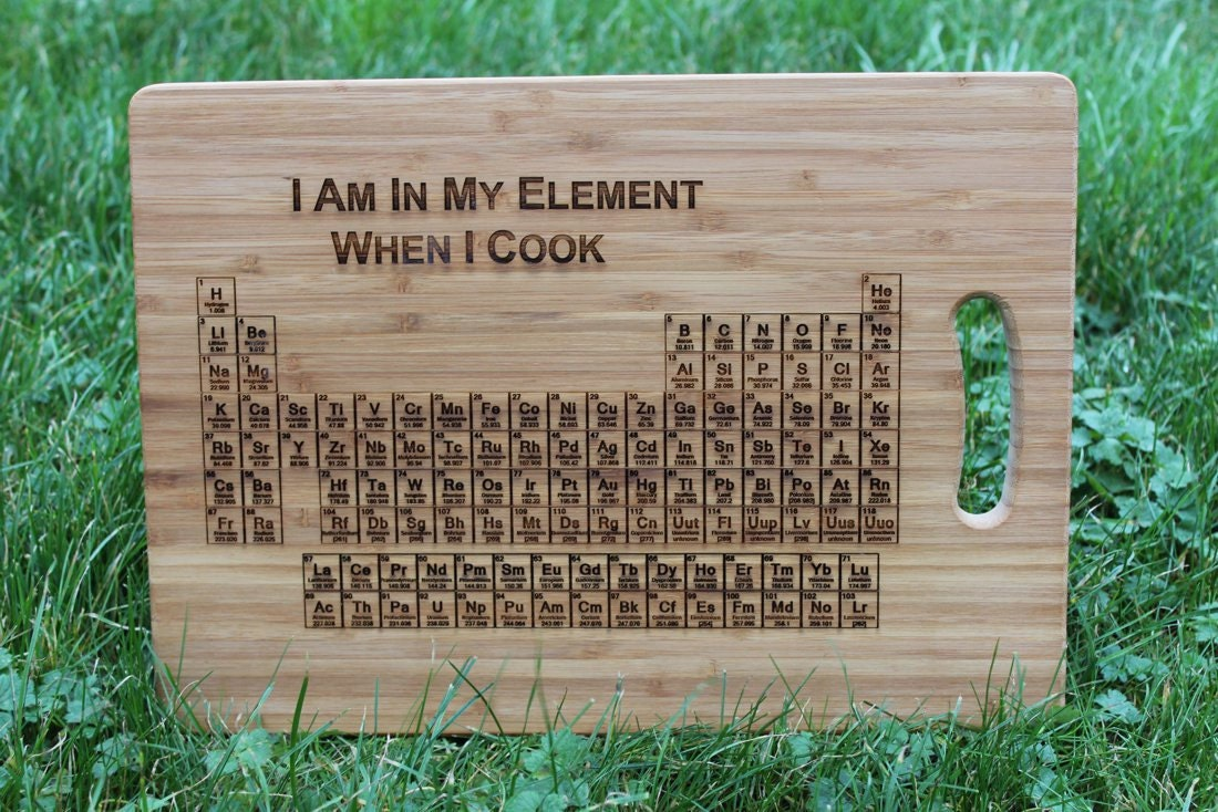 Periodic table of elements i am in my element when i cook zoom urtaz Images