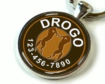 Custom pet id tag unique pet id tag dog tag cat tag game of thrones dothraki drogo