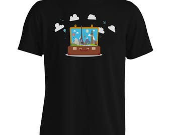 New Travel Around Globe Love Men's T-Shirt m482m