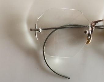 Vintage 1900s Gold Eyeglasses