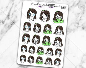 E003 | Sad Tabi Doodle Stickers