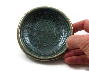 BUDDHIST BUDDHA Offering Bowl  Handmade Ceramic Pottery