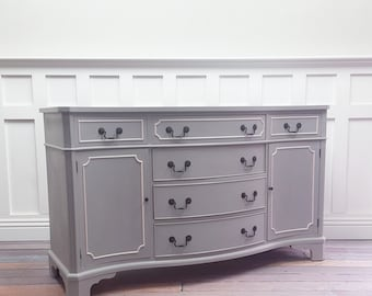 SOLD - Paris Grey buffet/sideboard SOLD
