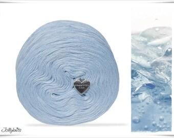 Solid Yarn Merino Ice Blue 500m
