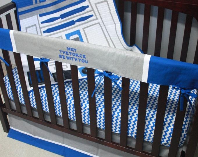 Star Wars Baby Bedding--R2-D2--Custom Crib Bedding-MTO