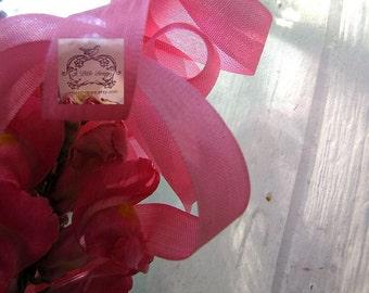 Rayon Seam Binding Ribbon Pink Rose