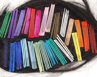 Colored bobby pins, colorful bobby pins, decorative bobby pins, blue bobby pins, colorful bobby pin, colored bobby pin, decorative bobby pin