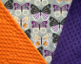Customized, Personalized Children's/Pet Blanket - Butterflies