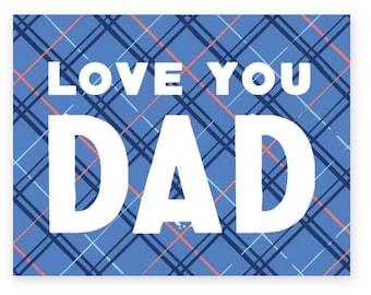 Love You, Dad  • single card