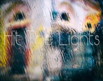 Look Trough the rain-photo, photography, printing, furniture, rain, prints, wall art, interior design