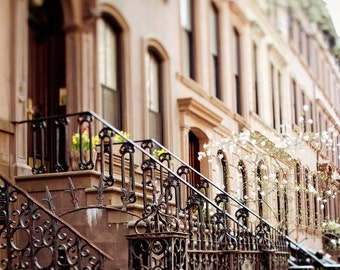 "New York City Print, Sex and the City Apartment, New York Photography, NYC Print, Greenwich Village, Travel Photography ""The Apartment"""