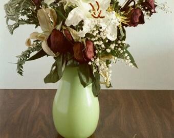 Print, Dry Flower Arrangement