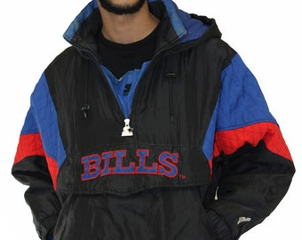 Vintage Buffalo Bills Starter Insulated Jacket Size Small