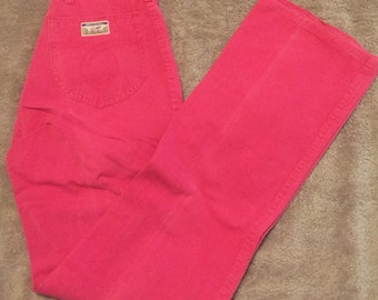 80's Hottie Pink Pants size Small