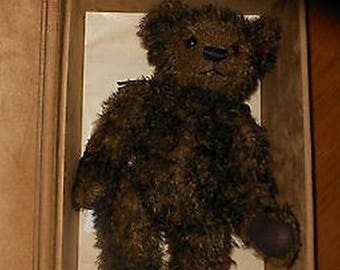 Gregory Gold Label Gund Mohair 2008 Retired Limited Edition Teddy Bear