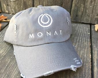 Monat SOLID COLOR CAP- Monat-Trucker Cap, Baseball Cap, Trucker Hat, Monet Cap- Monat Clothing
