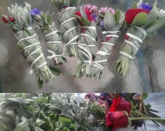 Sage and Floral smudgesticks