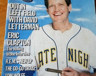 David Letterman - Rolling Stone Magazine Issue# 450 - 1985