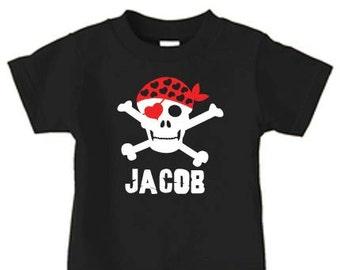 Valentine shirt for boyd, Valentine's day skull shirt, personalized valentine shirt for boys, boys valentine shirt