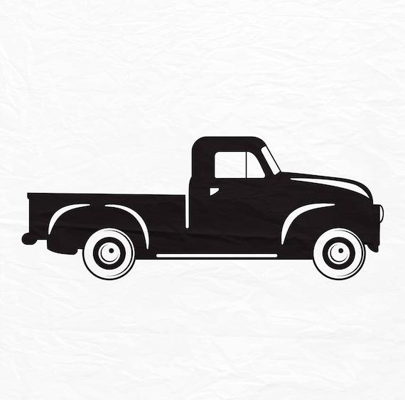 Free Christmas Tree Pick Up: Truck SVG Vintage Truck Svg Files Christmas Truck Svg Truck