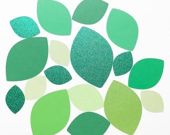 Leaf, Leaf cut outs, Leaf backdrop, Leaf die cuts, Leaves. Green leaves, Leaf scrapbooking, Leaf decorations, Leaf shapes, Leaf decor, green