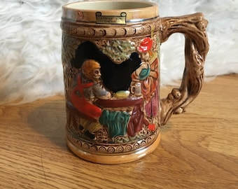 Ceramic Decorative Stein Tankard