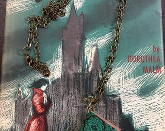 Romantic readers necklace