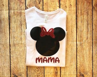 Disney Family Shirts, Glitter Disney Shirt, Disney Shirts Women, Disney Shirts for Family, Family Disney Shirts, Mickey Shirts, Minnie Shirt