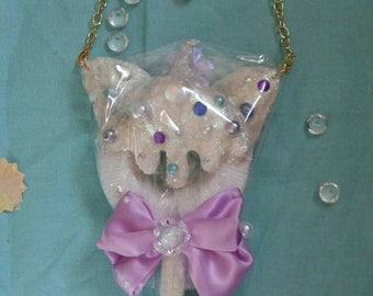 Unicorn fairy kei necklace